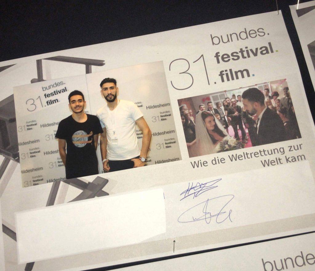 Hamoudi und Mohammed haben uns in Hildesheim vertreten